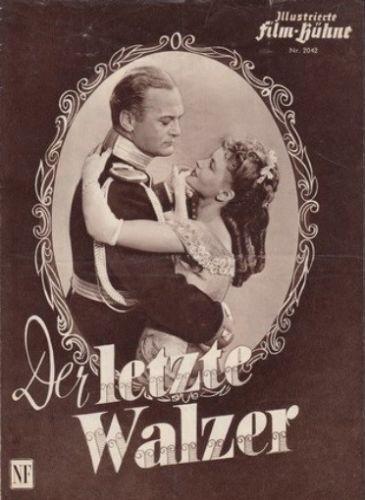 IFB-Film-Buehne-2042-Der-letzte-Walzer-Eva-Bartok-Curd-Juergens-O-E-Hasse