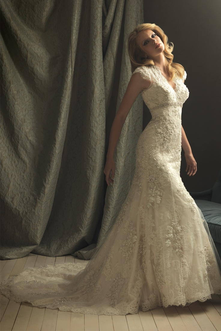 dream wedding dress. lace and beads. perfect.