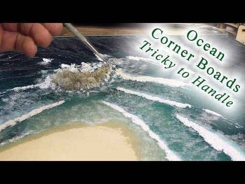 TerranScapes - Entire Process for Waves @ 16x speed - Ocean Modular Boards - YouTube