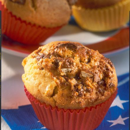 Snickers-Muffins Rezept