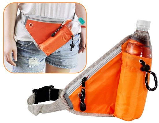 Многофункциональный Модные Свободное талии сумка Открытый сумка Креста (оранжевый) | HL1837O