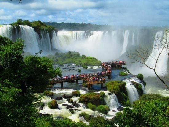 Cataratas do Iguaçu Foz do Iguaçu, Brasil