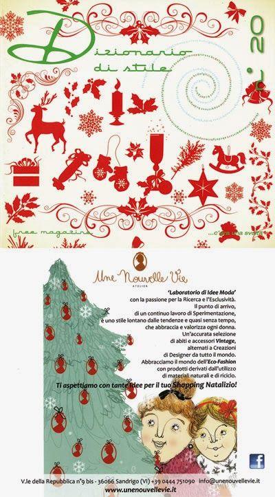 """Une Nouvelle Vie@""""Dizionario di Stile""""_Natale 2011"""
