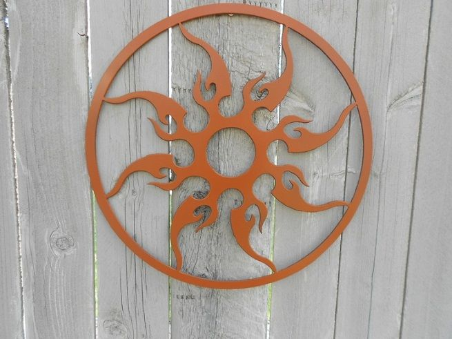 Metal Art Wall Decor 25 best wall and fence art images on pinterest | outdoor walls