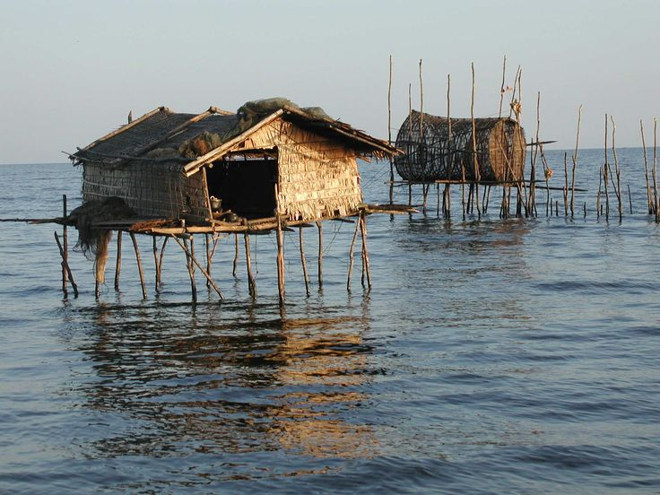 The Tonlé Sap is a combined lake and river system of major importance to Cambodia.