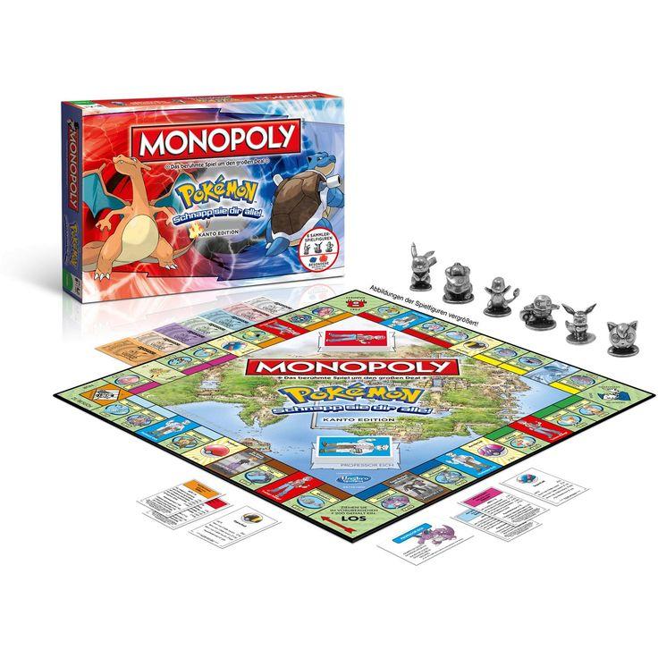 Pokemon Monopoly Figuren