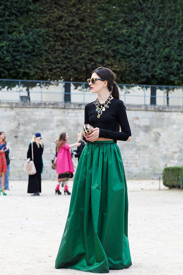 17 Best images about Long skirt mania on Pinterest | Maxi skirts ...