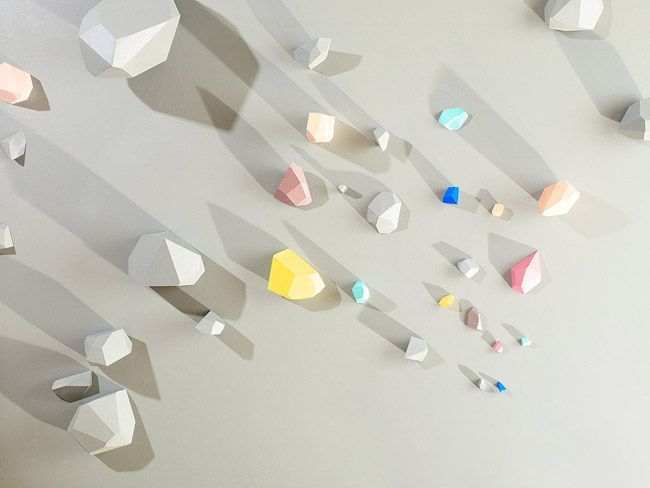 Blocks Series by Canadian photographer Evonne Bellefleur & stylist Caitlin Doherty: Wall Art, Colors Trends, Pastel Colour, Evonn Belleflu, Evonn Bellefleur, Geometric Shape, Colour Palettes, The Blocks, Shadows Art
