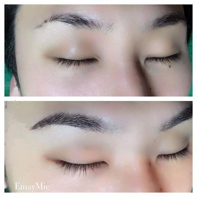 2016/11/12 10:31:29 emaymie_salon . メンズアイブロウ . 今月はブライダルのお客様が多いです💒 . 男性も当日メイクさんに描いて頂く方多いと思いますが自然に見せたいということで、ワックス脱毛の後に眉毛エクステをつけてます。 . 上の写真は脱毛後、エクステを足して濃さを出してます💡 . 男性もかっこよくお写真に残したいですよね💕 .  素敵な式になりますように💍 . . .  眉毛エクステ講習 ご予約受付中💡 •セルフコース(自分自身へ眉毛エクステを付けたい方へのコース) . •プロフェッショナルコース(お客様に施術をすることを目的としたコース)  #まゆげ#眉毛#眉毛エクステ#眉エク#眉デザイン#マユエク#マツエク#メンズアイブロウ#美容#プレ花嫁#メイク#アイブロウ#エクステ#ナチュラル#自然な仕上がり#湘南#眉エク品川#日本眉毛エクステンション協会認定#眉毛エクステ講習#アイブロウワックス#日本眉毛エクステンション協会 #eyebrowextensions#eyebrow#mens…