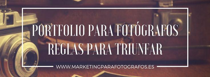Portfolio para Fotógrafo: cómo hacerlo para vender más