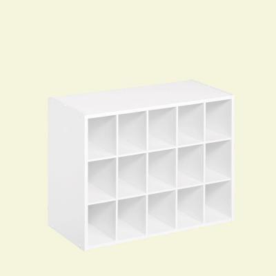 Closetmaid 24 In W X 19 In H White Laminate 15 Cube