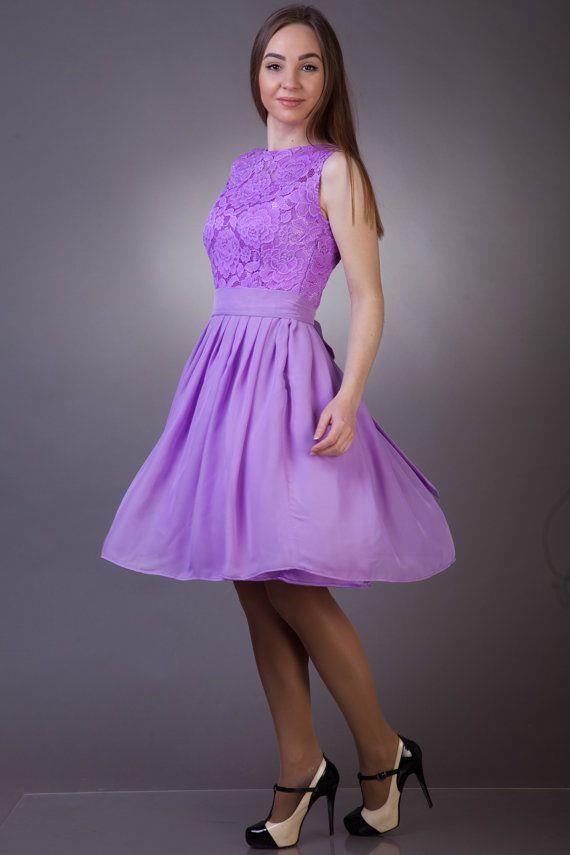 Excepcional Vestido De La Dama De Honor De Encaje De Color Rosa ...