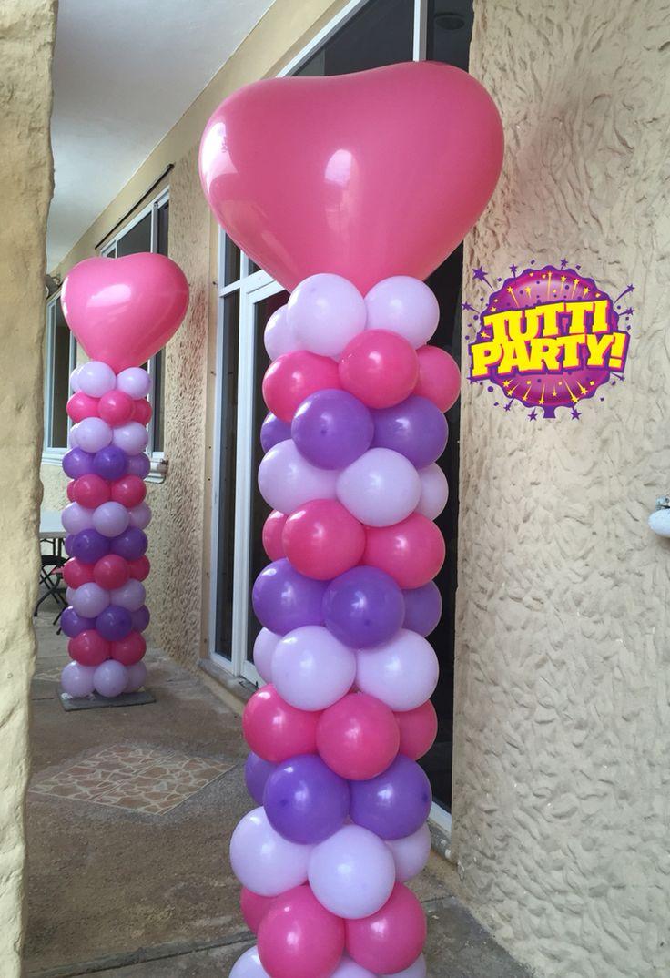 17 best images about globos on pinterest balloon arch - Decoracion de globos ...