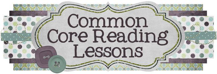 Common Core Reading Lessons (Grades K-12)3Rd Grade Reading, Classroom, Ela Teachers, Cores 3Rd, Common Cores Reading, Cores Lessons, 1St Grades, Reading Lessons, Common Core Reading