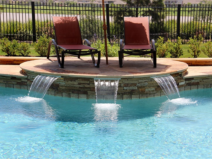 143 best water features images on pinterest swimming for Water pool design