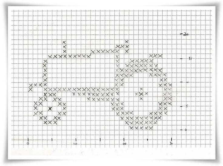 ✰ Skorpionen's hjørne: Osloanorakk med traktormønster! ✪