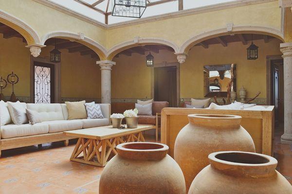 Hermosa casa estilo mexicano contempor neo en arandas for Muebles estilo mexicano contemporaneo