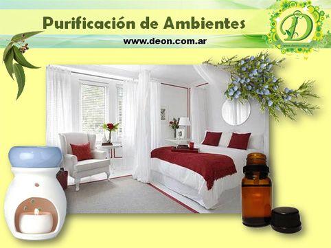 Purificación de nuestros Ambientes con Aromaterapia