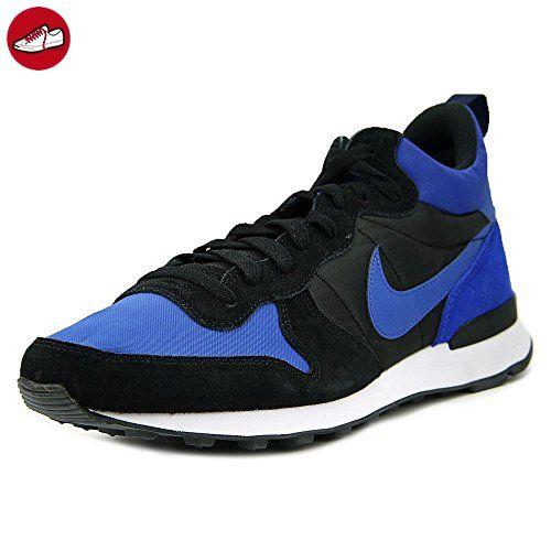 Nike Herren Internationalist Mid Laufschuhe, Verschiedene Farben (Blau / Schwarz / Weiß (Vrsty Königs / Vrsty Ryl-Blck-Wht)), 44 1/2 EU - Nike schuhe (*Partner-Link)
