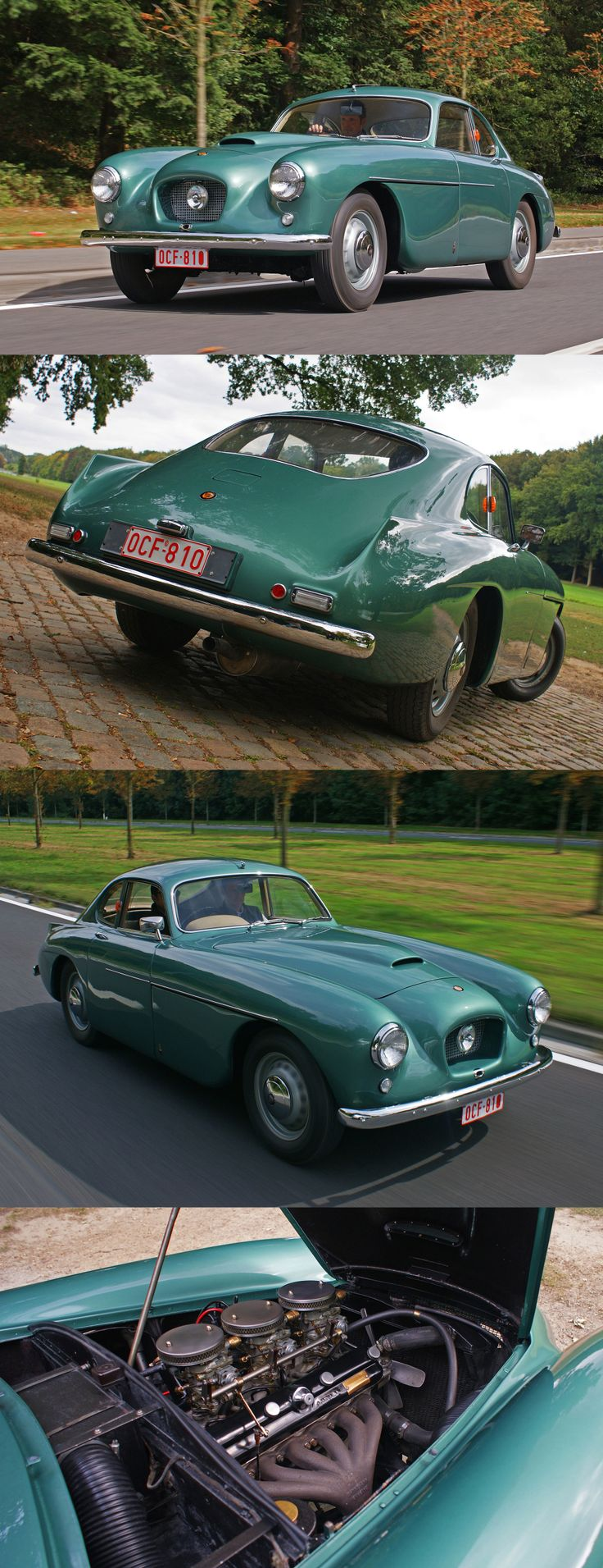 1953 Bristol 404 /12 Cylinder, Three Quads in a vehicle that weighs a little more than a 1965 Ford Falcon.