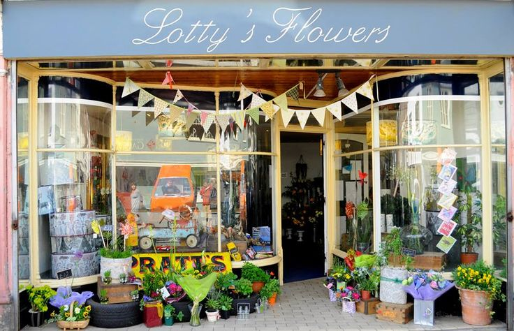 Car Show Window Display, 2013 Lotty's Flowers Faversham.