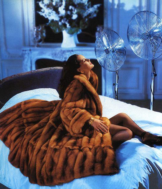 Sable Fur Coat. I'm a big fan....