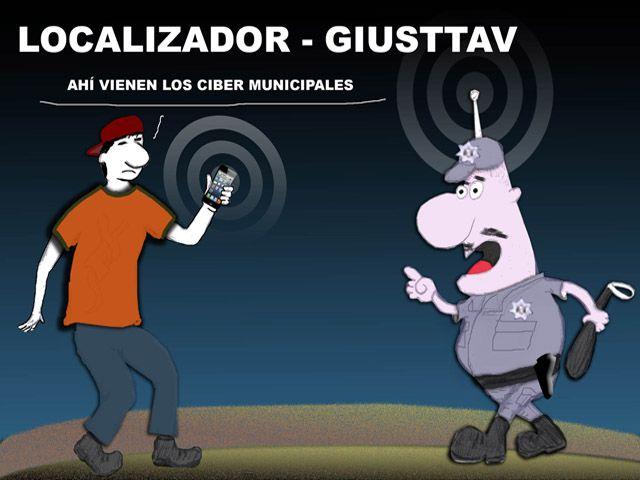 Ladrón queda detenido porque robó un celular con localizador satelital