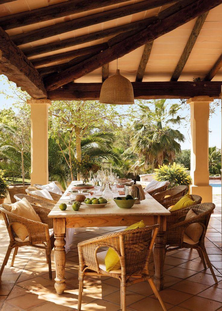 1395 best images about terrazas y porches con encanto on - Porches de casas ...