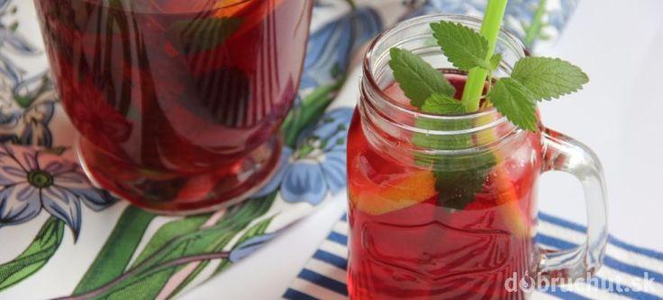 Ľadový čaj lesné plody