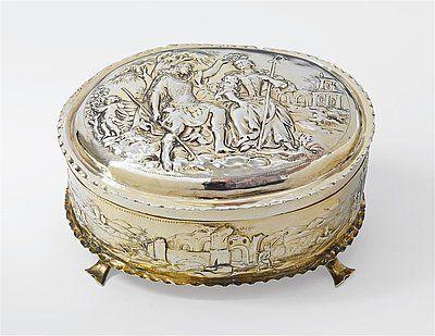 Baroque cover can - Art Auctionhouse Lempertz #silber #silver #lempertz #auctionhouse #art #decorativearts