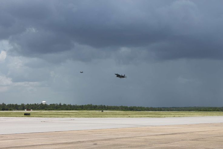 An F-15E Strike Eagle lands at Eglin Air Force Base, Fla., July 8, 2016, after a mission in which Boeing's F-15 mission systems recorded its first flight with the Advanced Display Core Processor II. The advanced mission computer, based on commercial technology, provides multi-core processing capabilities propelling the F-15 to the forefront of fighter embedded computing systems. (Courtesy photo)