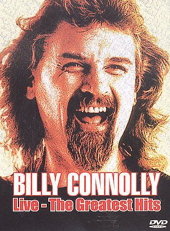 Billy Connolly Live The Greatest Hits DVD 2002 Enthralling Unadulterated Best