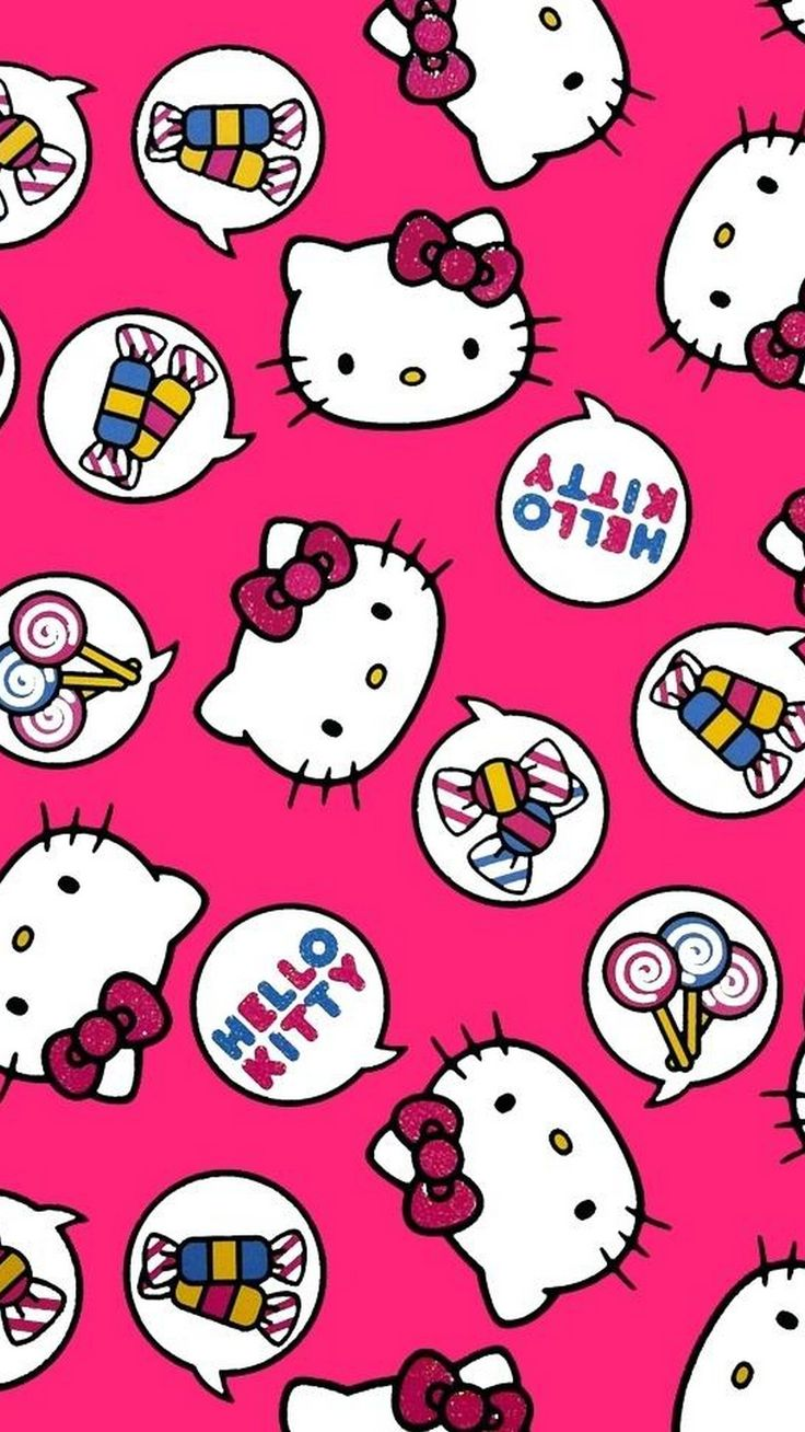 Sanrio Hello Kitty iPhone 6 Wallpaper (With images