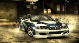 NFS Most Wanted (2005) the famous car from the rival Razor with his legendary car  BMW M3 GTR