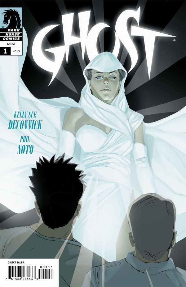 [Kelly Sue] DeConnick and [Chris] Sebela build an engaging world, revealing enough to keep the reader interested but while still creating mystery. The challenges I find with writing established characters in a new series launch are writing enough to nod back to established fans but still draw in new ones. Ghost keeps readers engaged, even if they are new to the franchise.