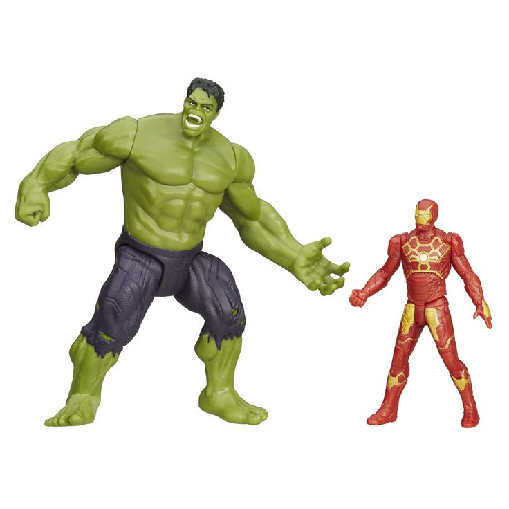 Marvel Avengers Savage Hulk en Ultron Hunter Iron Man | Bart Smit