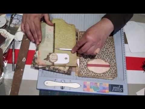 Scrapbook para principiantes 4: Parte I, tutorial tipos de etiquetas y tags. Scrapbooking ideas