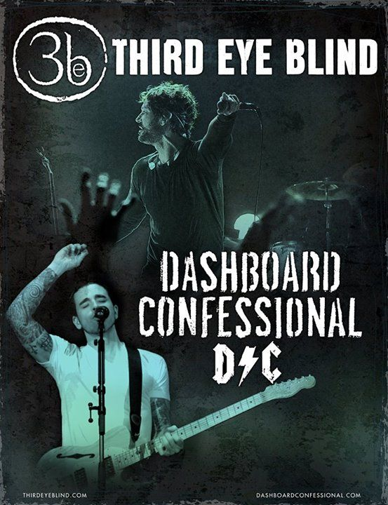 NEWS: The alternative rock band, Third Eye Blind, has announced a co-headline North American tour with Dashboard Confessional, for this summer. You can check out the dates and details at http://digtb.us/1AYHNS9