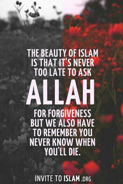 allah quotes about forgiveness