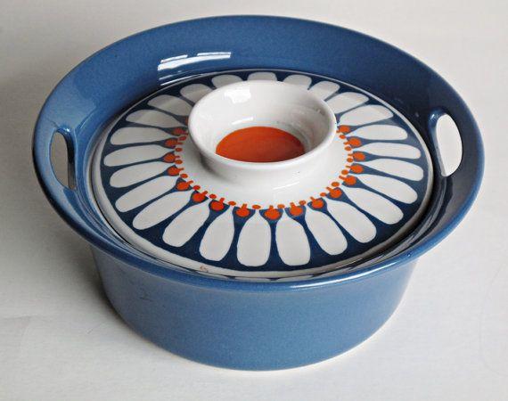 Figgjo Flint Turi Design Daisy Lidded Bowl by 20thCenturyStudio, £52.00