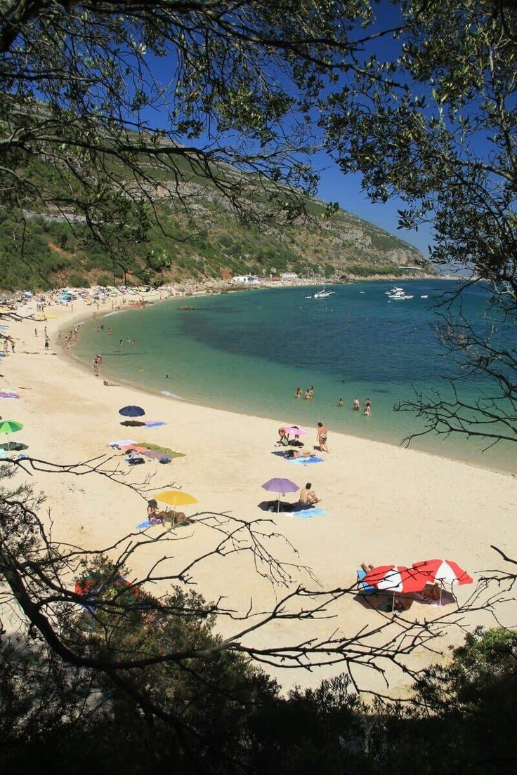 Praia de Galapinhos beach in Portugal. #Beach #Europe #Portugal