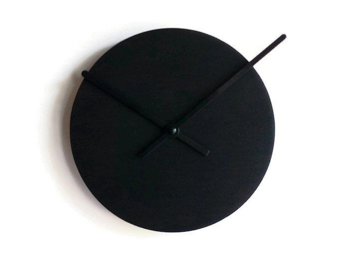 now selling laser cut wood black hole clockmodern wall clockwood wall clockwall clock modernwall wall clock