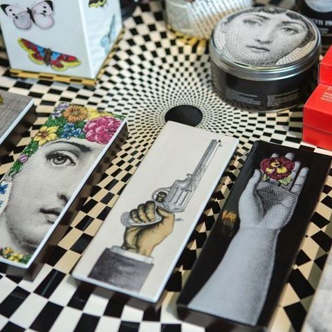 Piero Fornasetti: A Milanese #painter #sculptor Interior #decorator And  #printer Of