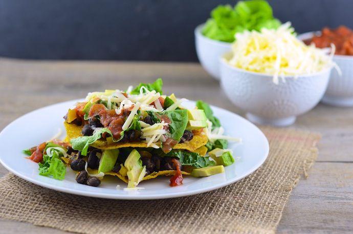 Vegetarian Tostadas | Recipes | Pinterest