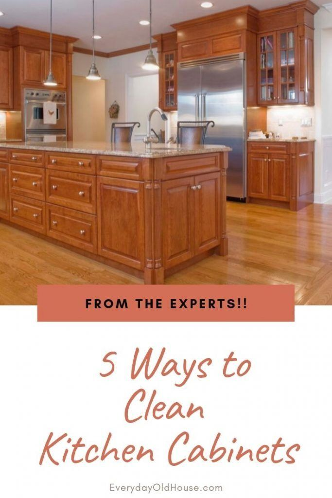5 Ways To Clean Wooden Kitchen Cabinets, How Can I Clean Wooden Kitchen Cabinets