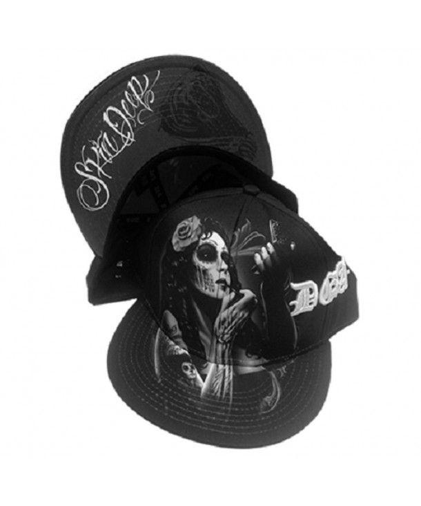 DGA Day of the Dead Marilyn Monroe Rockabilly Art Men/'s Snapback Hat Smile Now