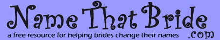 An amazing name change website!!!  It has links to all of the forms you need and an amazing checklist!