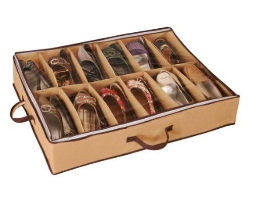 Necessito!     Sapateira Flexível Organizador De Sapatos My Closet Ordene - R$ 25,50