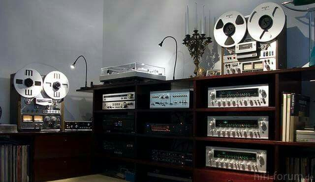 Vintage Audio Audiophile Listening Room Design Hi Fi