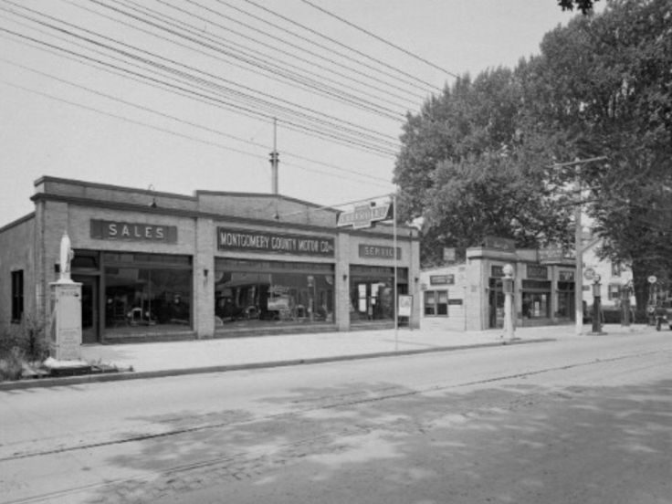 1926 Montgomery County Motor Co., Chevrolet Dealership